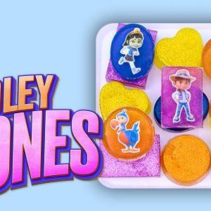 Ridley Jones DIY Soap Shapes & Colors for Kids! 🧼 Netflix Jr