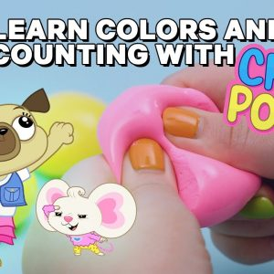 Chip & Potato Clay Cracking: Learn Colors & Counting ☺️ Netflix Jr