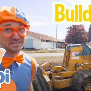 Blippi Explores Construction Vehicles Part 1 | Machines For Kids | Educational Videos For Kids