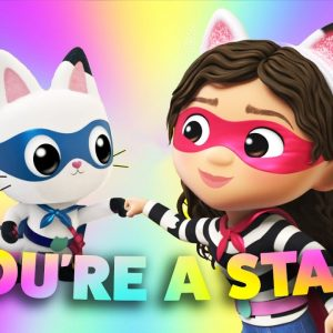 'You're a Star' Gabby's Dollhouse Confidence Song for Kids | Netflix Jr Jams