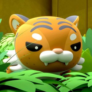 Indochinese Tiger Chase + Rescue 🐯 The Octonauts: Above & Beyond | Netflix Jr