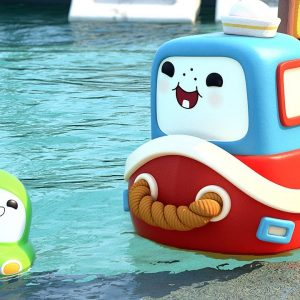 The Super Duper GIANT Cannonball 💦 Go! Go! Cory Carson: Chrissy Takes the Wheel | Netflix Jr