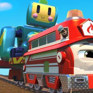Stop the Giant Robot! 🤖 Mighty Express Season 5 Sneak Peek | Netflix Jr