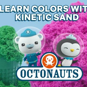 SUPER Satisfying Sand! Learn Colors with the Octonauts | Netflix Jr