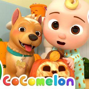 Peek-a-BOO Song Halloween Edition + More Nursery Rhymes & Kids Songs - CoComelon