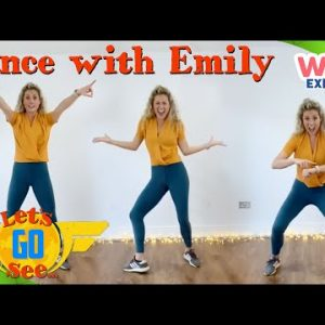 @Let's Go See - Learn the Let's Go See Dance with Emily! | Dance | Music for Kids | @Wizz Explore