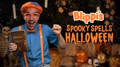 Blippi's Halloween Movie - Spooky Spells For Kids