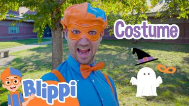 Blippi's Search for His Halloween Costume! | Fun Halloween Videos For Kids