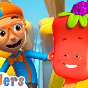 Blippi Wonders - Ice Cream Truck Adventure! | Blippi Animated Series | Cartoons For Kids