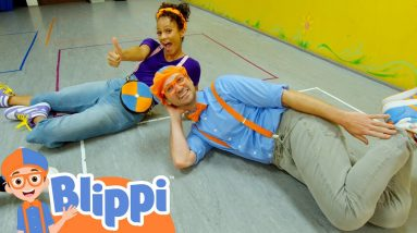 Blippi and Meekah Learn to Dance at Creation Station Studios! | Educational Videos For Kids