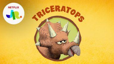 Meet the Triceratops! | StoryBots: Dinosaurs for Kids | Netflix Jr