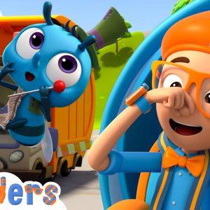 Blippi Wonders - Garbage Truck Adventure! | Blippi Animated Series | Cartoons For Kids