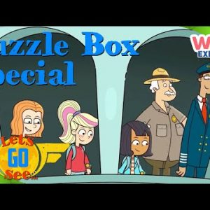 @Let's Go See - Puzzle Box Special! | Compilation | Exploration for Kids | @Wizz Explore