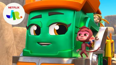 Mischievous Monkey Puts Wrench in Plans 🔧 Mighty Express | Netflix Jr
