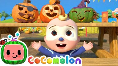 Pumpkin Time Song + More Nursery Rhymes & Kids Songs - CoComelon