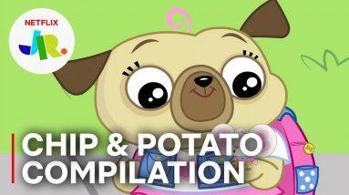Chip & Potato 3 FULL EPISODES 🐾 Season 1 Compilation 🧀 Netflix Jr